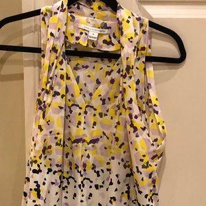 Diane Von Furstenberg sleeveless blouse